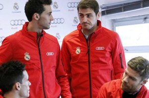 Arbeloa et casillas