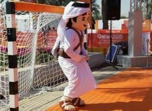 handball_mascotte qatar 2015
