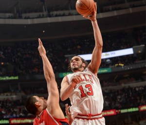 joakim noah_4e triple double en carriere_bulls-hawks