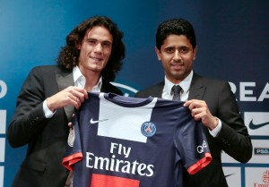 FOOTBALL - MISCS - PSG NEW PLAYER EDISON CAVANI IN PARIS