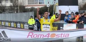 aziz lahbabi_semi-marathon de rome-ostia2014