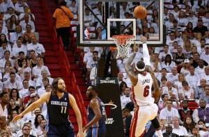LeBron James_Miami-Charlotte