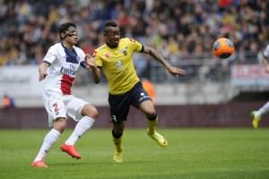 FOOTBALL : Sochaux vs Paris - Ligue 1 - Championnat de France 2013 / 2014 - 27/04/2014 -