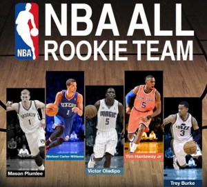 NBA All-Rookie Fist Team