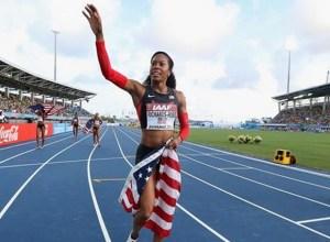 Sanya Richards-Ross_team usa realais 4x400m_mondiaux de relais