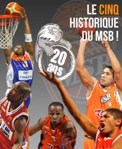 le cinq historique du MSB