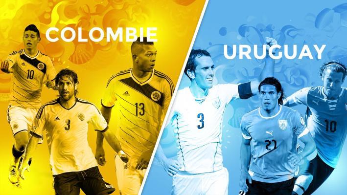 Colombie uruguay