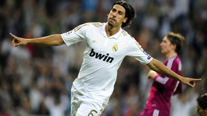 Real Madrid's German midfielder Sami Khe