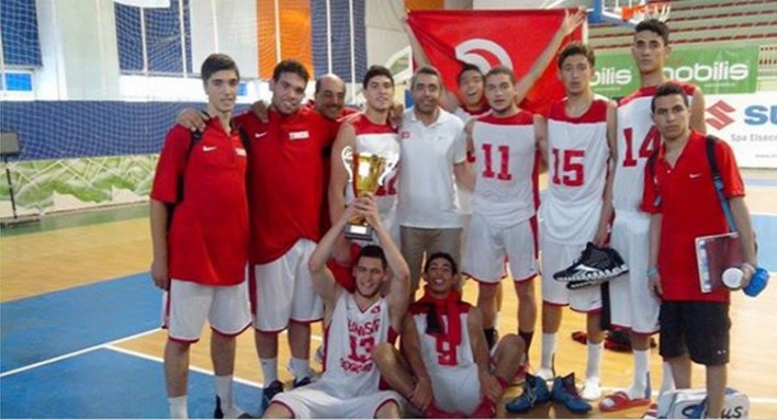 afrobasket u18_tunisie champion zone 1