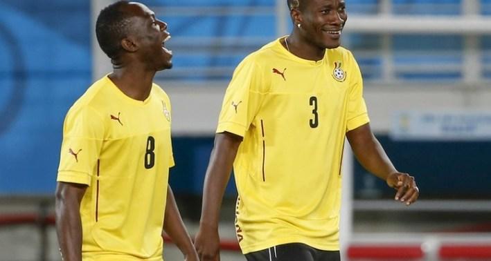 Soccer: World Cup-Ghana Training