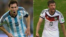 Allemagne vs argentine compos