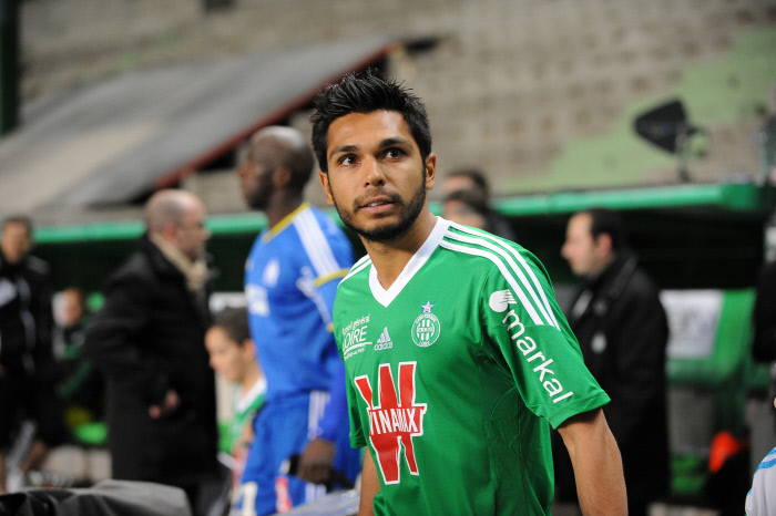 FOOTBALL : Saint Etienne vs Marseille - Ligue 1 - 16/02/2014