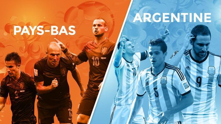 Pays-Bas - Argentine demi-finale de la Coupe du monde