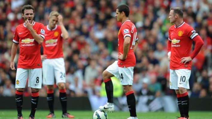 Manchester united chute nvo