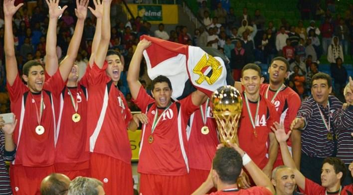 egypte champion afrobasket u18