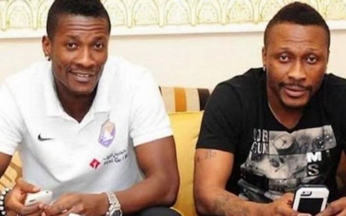 Asamoah et Baffour Gyan