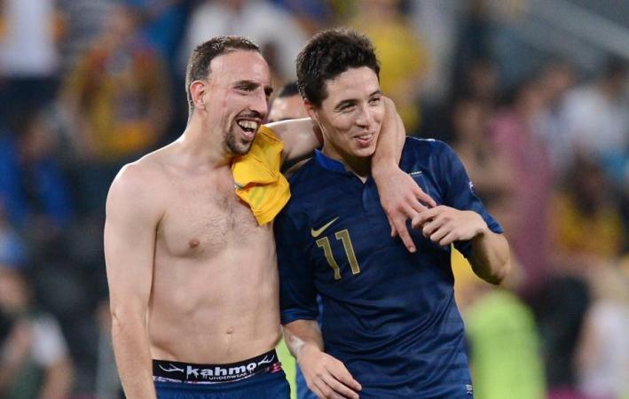 Ribéry et Nasri