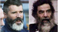 Roy Keane Saddam Hussein
