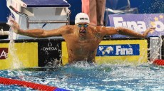 chad le clos vainqueur du 200 m nage libre mondiaux 2014 en petit bassin de doha