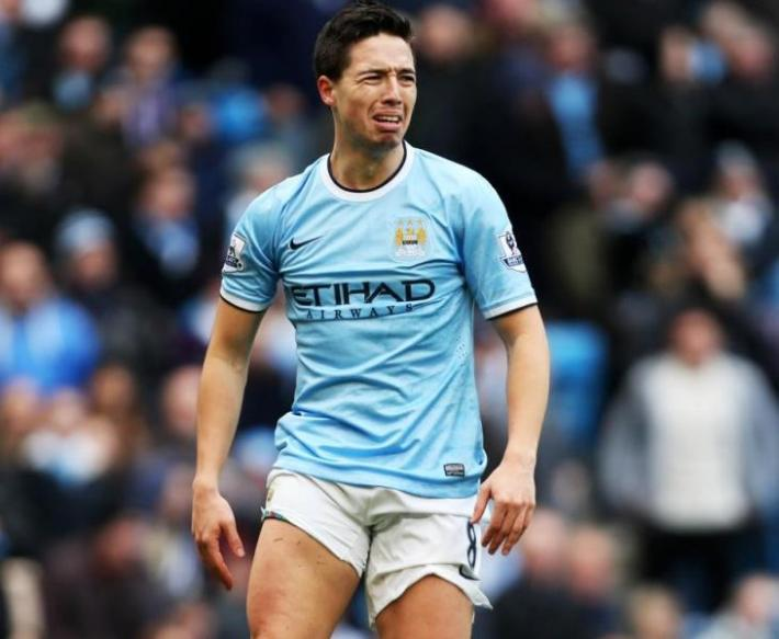 Samir Nasri Man City