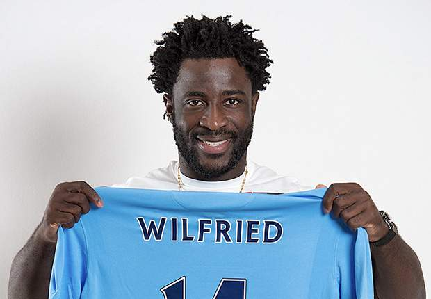 Wilfried Bony Man City
