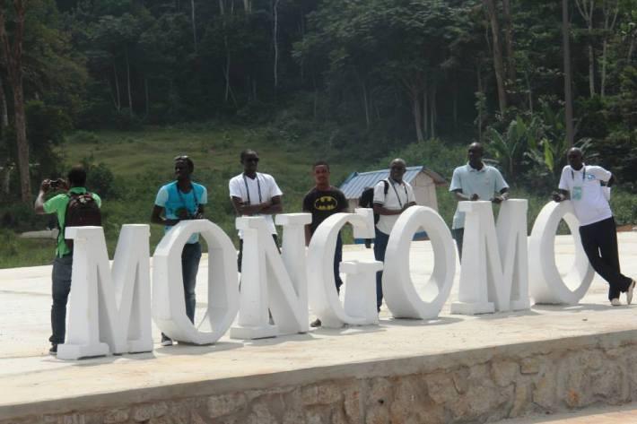 les_journalistes_sénégalais_à_Mongomo