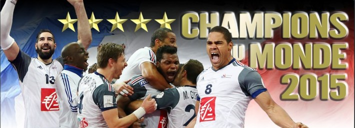 france championne du mode de handball 2015