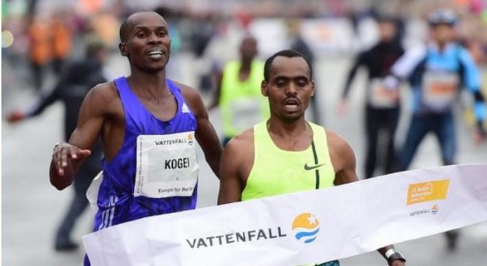 Birhanu Legese vainqueur du semi-marathon de berlin 2015
