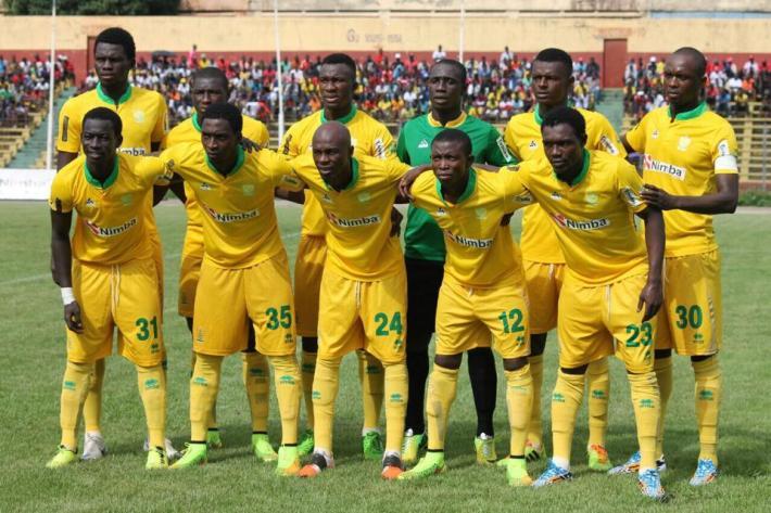 CAF Ligue des Champion1-AS Kaloum