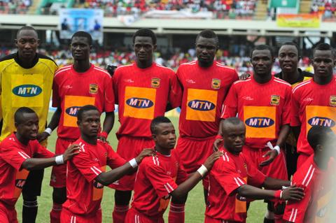 Football - 2011 MTN FA Cup - Final - Nania FC v Asante Kotoko - Accra Sports Stadium