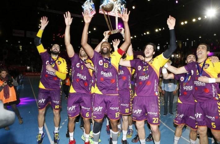 hbc nantes vainqueur de la coupe de la ligue 2015