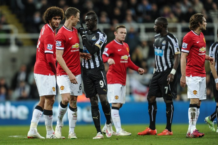Newcastle United  v Manchester United- Barclays Premier League