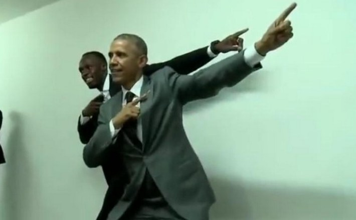 barack obama prend la photo avec usain bolt