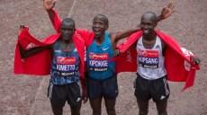 eliud kipchoge remporte le marathon 2015 de londres
