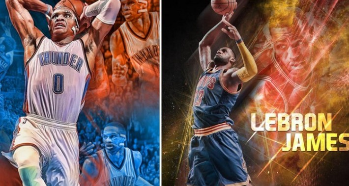 russell westbrook_lebron james