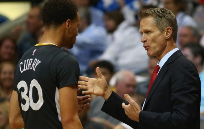 steve kerr coah golden state warriors