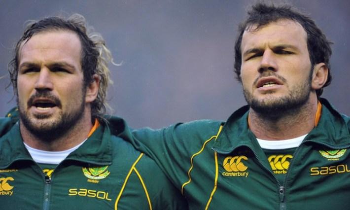 Bismarck Du Plessis & Jannie Du Plessis