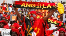 Angola Fans. Angola V Ghana. Quarter final of the Orange African Cup of Nations. Luanda. Angola. Africa. 24th January 2010. Pictures by Z & D Lightfoot. www.photoshelter.com/lightfootphoto