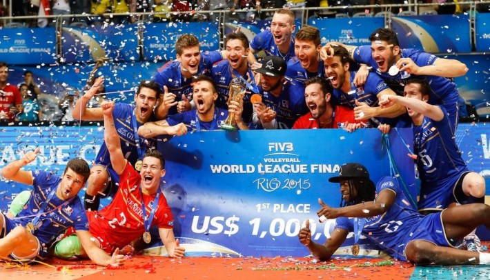 la france remporte l'or de la ligue mondiale de volleyball