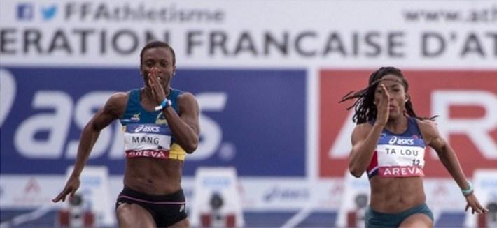 marie-josée ta lou remporte le 100 m du championnat de france
