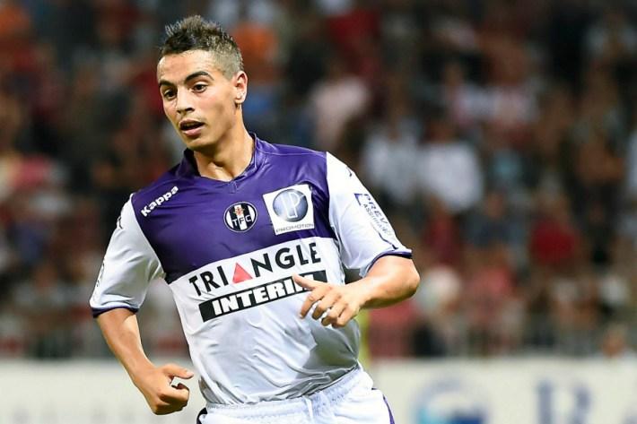 Wissam BEN YEDDER - 09.08.2014 - Nice / Toulouse - 1ere Journee de Ligue 1 Photo : Fred Porcu / Icon Sport