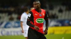 Paul Georges NTEP  - 12.02.2014 - Auxerre / Rennes - 1/8emeFinale Coupe de France Photo : Dave Winter / Icon Sport