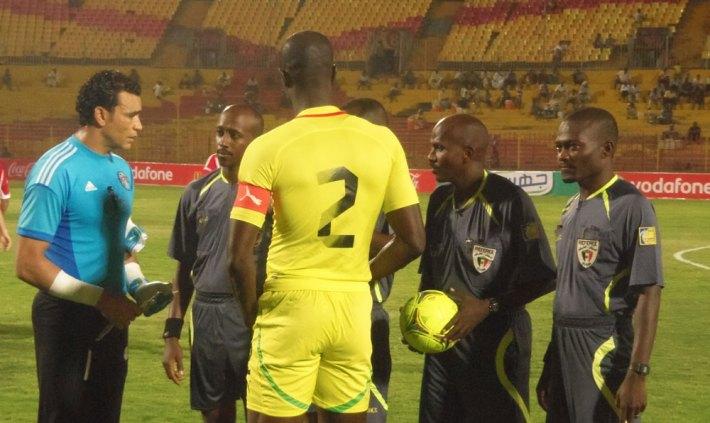 Images d'archives du dernier match amical entre l'Egypte et le Togo.