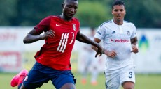 Sehrou Guirassy / Roman de Moraes Motta - 25.07.2015 - Besiktas / Lille - Match Amical Photo : Rodriguez / GEPA / Icon Sport