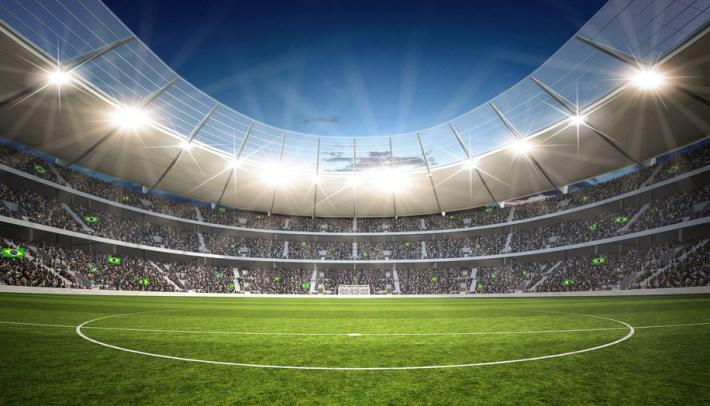 Stadion Mittellinie