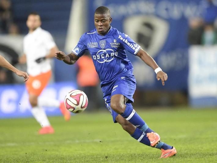AYITE Floyd (Bastia) FOOTBALL : SC Bastia vs Montpellier - Ligue -08/11/2014 JBAutissier/Panoramic PUBLICATIONxNOTxINxFRAxITAxBELAyite Floyd Bastia Football SC Bastia vs Montpellier Ligue 08 11 2014 JBAutissier Panoramic PUBLICATIONxNOTxINxFRAxITAxBEL