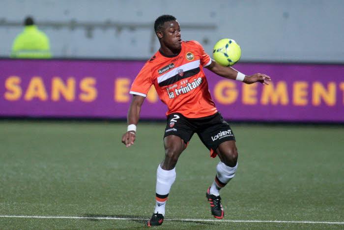 Lamine KONE - 22.12.2012 - Lorient / Reims - 19e journee Ligue 1 Photo : Nicolas Guyonnet / Icon Sport