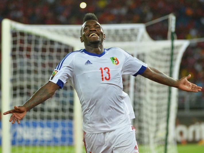 Bifouma Thievy ( Kongo ) Äquatorialguinea vs Kongo - CAN 2015 - 17/01/2015 PanoramicXPanoramic PUBLICATIONxNOTxINxFRAxITAxBEL  BIFOUMA THIEVY Kongo Equatorial Guinea vs Kongo CAN 2015 17 01 2015  PUBLICATIONxNOTxINxFRAxITAxBEL