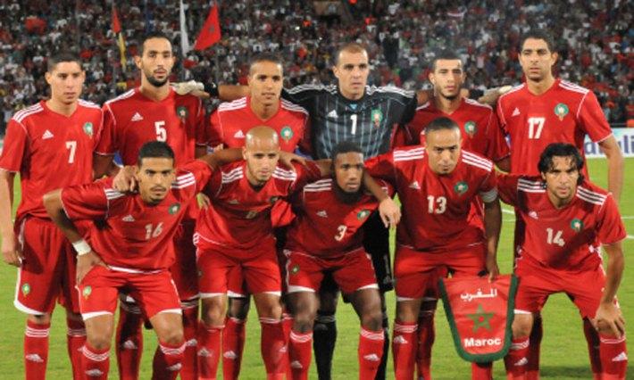 equipe maroc