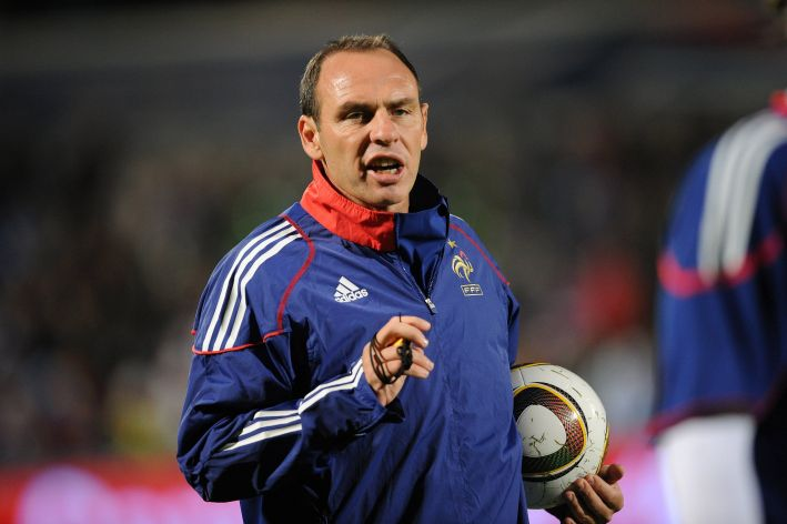 Football : France / Luxembourg - Qualifications Euro 2012 - 12.10.2010 - Alain Boghossian (France)